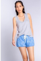 Thumbnail for your product : PJ Salvage Athletic Club Stars Short, H Bright Blue X-Small