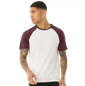 Jack Wills Mens Verwood Raglan T-Shirt White