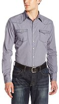 Wrangler Men's Retro Western Long Sleeve Woven Shirt