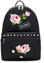 Dolce & Gabbana floral applique backpack