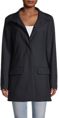 The Row Payton Stretch-Wool Coat