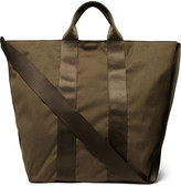 Nonnative - Adventurer Webbing-trimmed Canvas Tote Bag