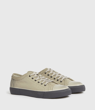 AllSaints Rigg Stamp Low Top Sneakers