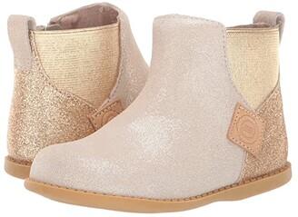 Livie & Luca Wink (Toddler/Little Kid) (Gold Shimmer) Girl's Shoes