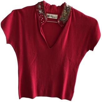 Blumarine Red Cotton Top for Women