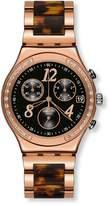 Swatch Women's Dreamnight YCG404GC Stainless Steel Wrist Watches