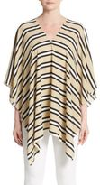 Cara Striped Poncho
