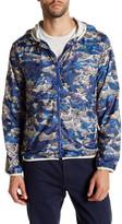 Gant Polyester Ocean Camo Hoodie