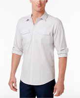 INC International Concepts Men's Checked Long-Sleeve Shirt, Created for Macy's