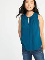 Old Navy Relaxed Shirred Sleeveless Top for Women
