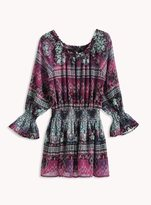 Ella Moss Girl Cici Printed Peasant Dress