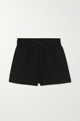 Alice + Olivia Alice Olivia - Carson Crepe Shorts - Black