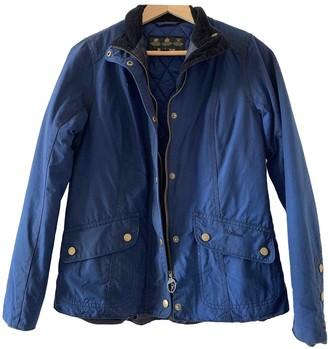 Barbour Blue Cotton Jacket for Women