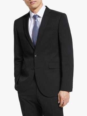 John Lewis & Partners Washable Tailored Suit Jacket, Black