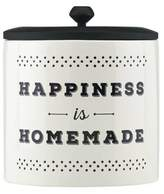 """Lenox Around the Table """"Happiness is Homemade"""" Canister"""