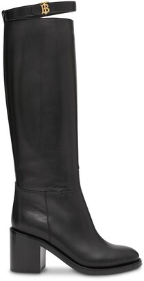 Burberry 70mm Monogram Knee-High Boots