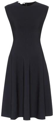 Stella McCartney Compact-knit midi dress