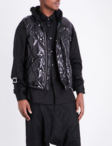 Junya Watanabe Quilted shell gilet
