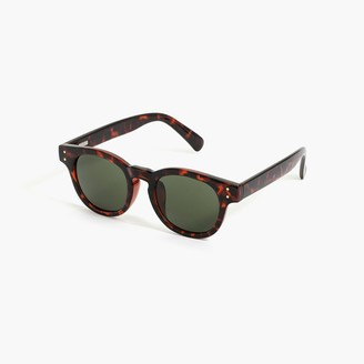 J.Crew Tortoise round sunglasses