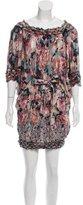Jean Paul Gaultier Floral Mini Dress
