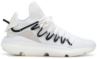 Y-3 Ridged Lace-Up Sneakers