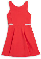 Sally Miller Girls 7-16 Mesh Panel Dress