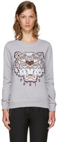 Kenzo Grey Limited Edition Tiger Sweatshirt