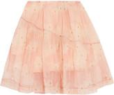 Simone Rocha Printed tulle mini skirt