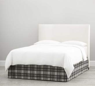 Pottery Barn Turner Plaid Print Bedskirt