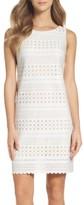 Eliza J Women's Laser Cut Scuba Dress