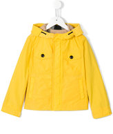 Burberry hooded jacket - kids - Polyester/Cotton - 7 yrs