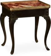 One Kings Lane Hemsley Marble Side Table, Gold/Black