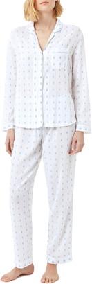 The White Company Cotton Jacquard Pajamas