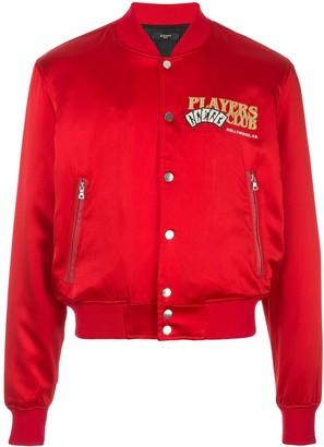 Amiri Players Club bomber jacket