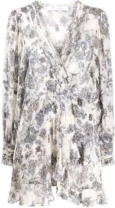 IRO Patchak wrap dress