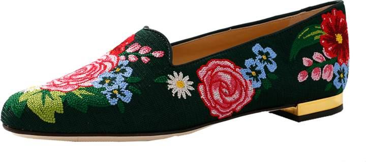 Charlotte Olympia Rose Garden Slipper