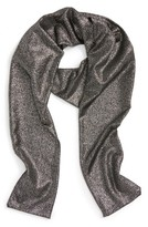BP Women's Metallic Skinny Scarf