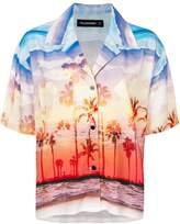 Filles a papa Kenny sunset print shirt