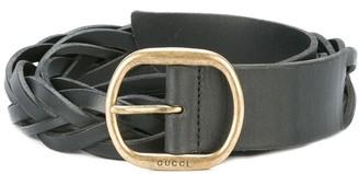 Gucci Braided Belt