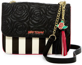 Betsey Johnson Faux Leather Crossbody