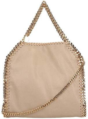 Stella McCartney Beige Faux Leather Falabella Tote Mini Bag