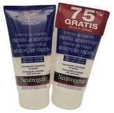 Neutrogena Fast Absorbing Hand Cream, 75 Ml. Twin Pack.