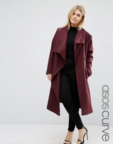 Asos Waterfall Trapeze Coat