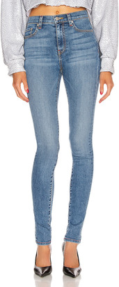 Frankie B. Mariah High Rise Skinny in Indigo Medium Blue | FWRD