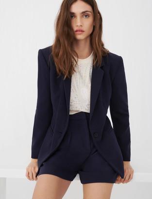 Maje Crepe suit jacket