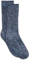 Hue Women's Color-Twist Tweed Ribbed Boot Socks
