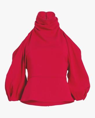 Cushnie Cold Shoulder Top