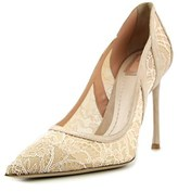 Christian Dior Lingerie Pointed Toe Suede Heels.