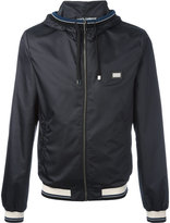 Dolce & Gabbana contrast stripe rain jacket - men - Polyester - 46