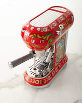 Smeg Dolce Gabbana x Sicily Is My Love Espresso Machine